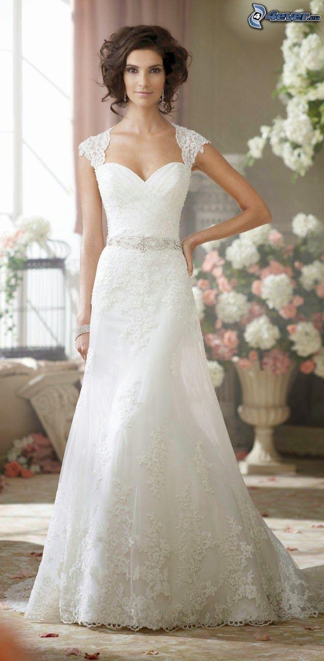 wedding dress, bride