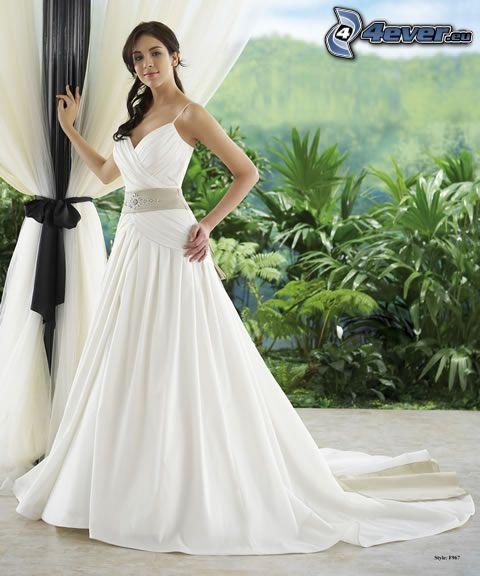 wedding dress, Jasmine collection, bride
