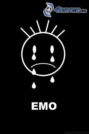 emo, cry, tear