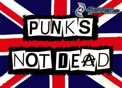 Punk's Not Dead!, english flag