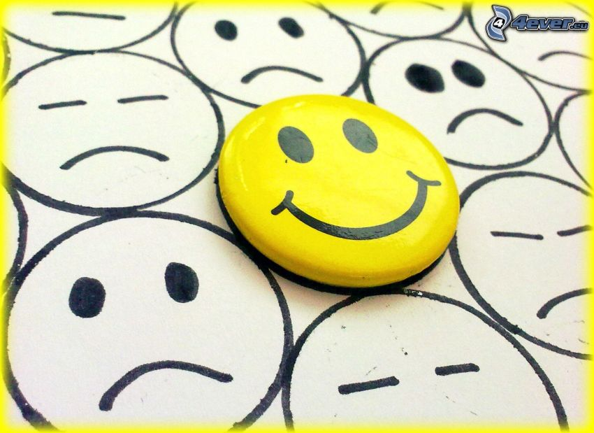 smiley, smile, sadness