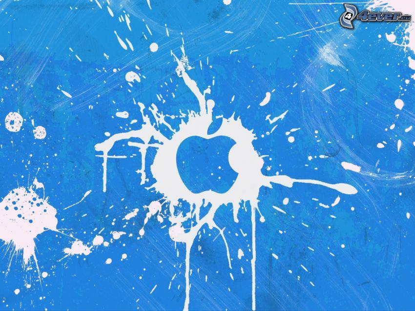 Apple, blot