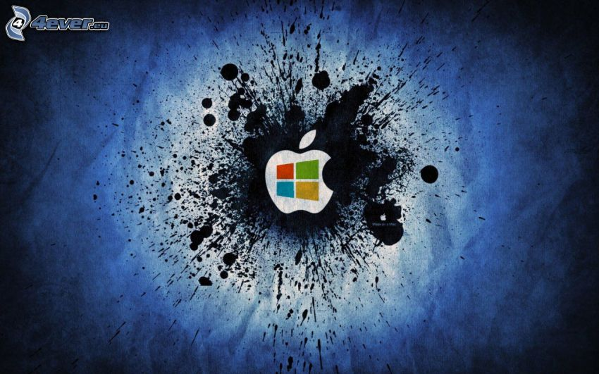 Apple, Windows, blot
