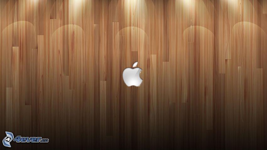 Apple, wood