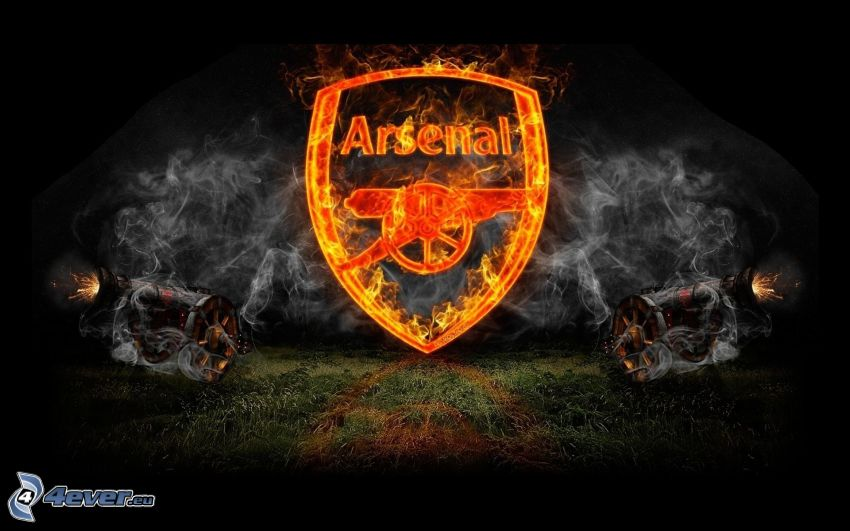 Arsenal, flame, smoke