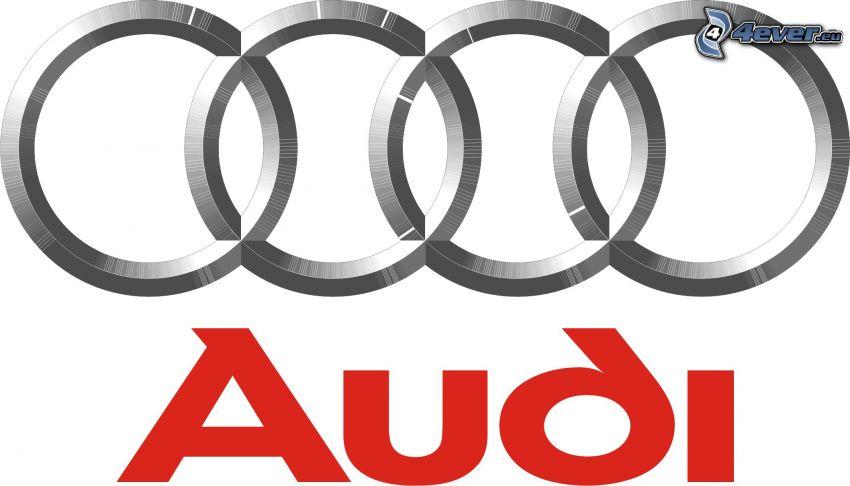 с логотипом audi