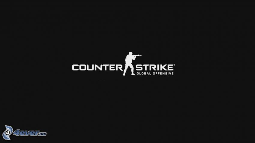 Counter Strike, black and white