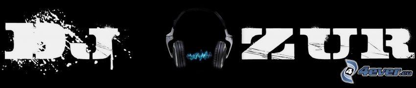 Dj Azur, headphones