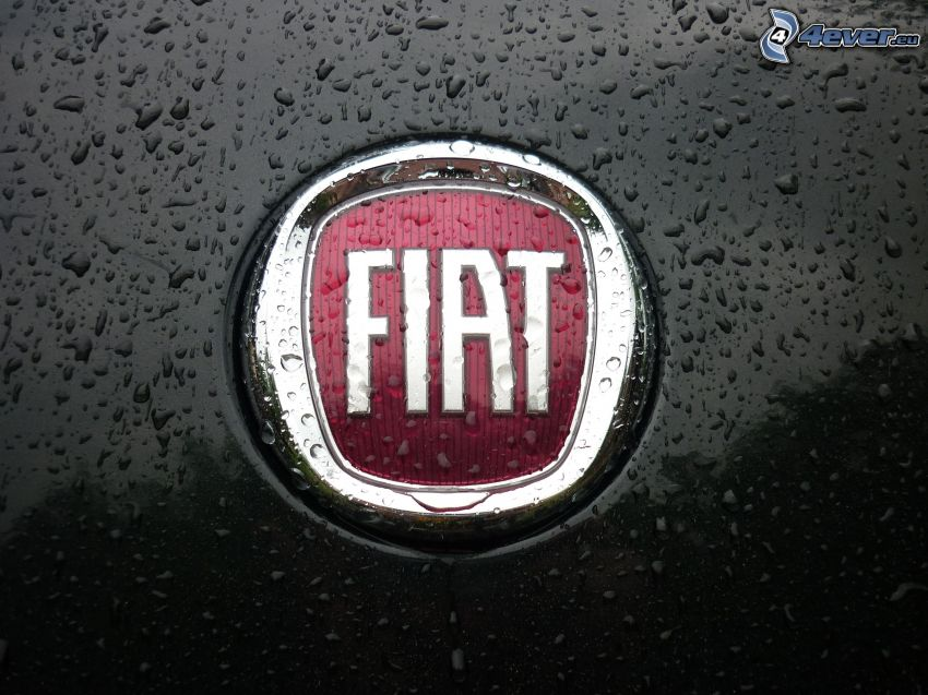 Fiat, drops of water