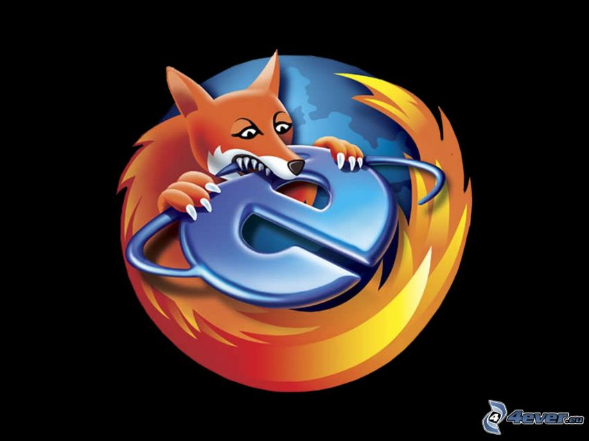 Firefox, Internet Explorer