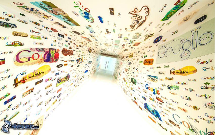 Google, corridor