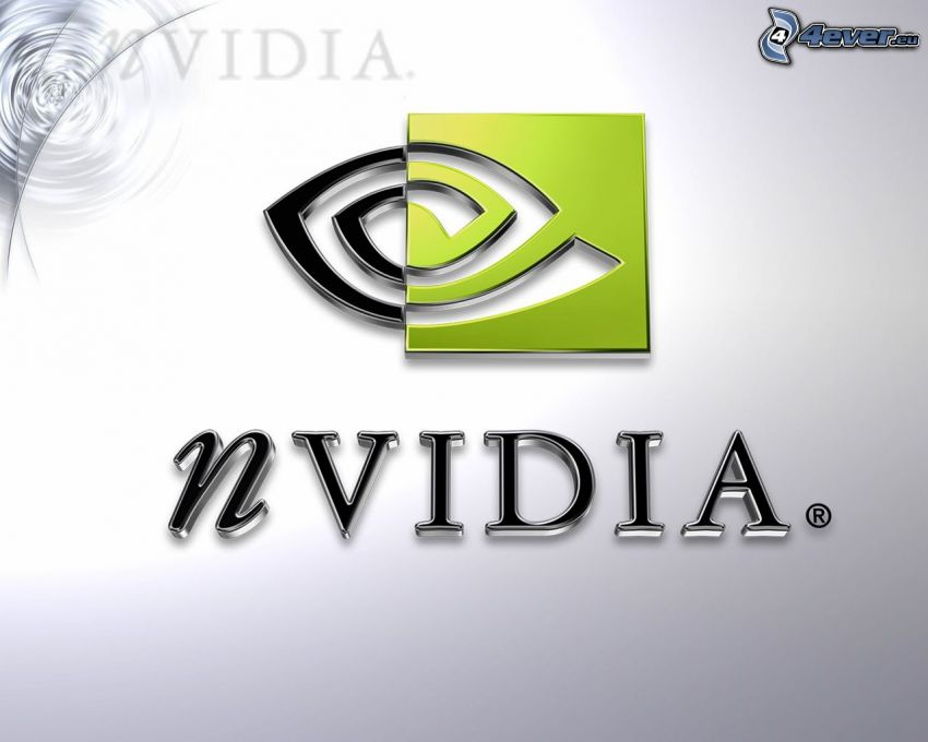 nVidia, logo, graphic