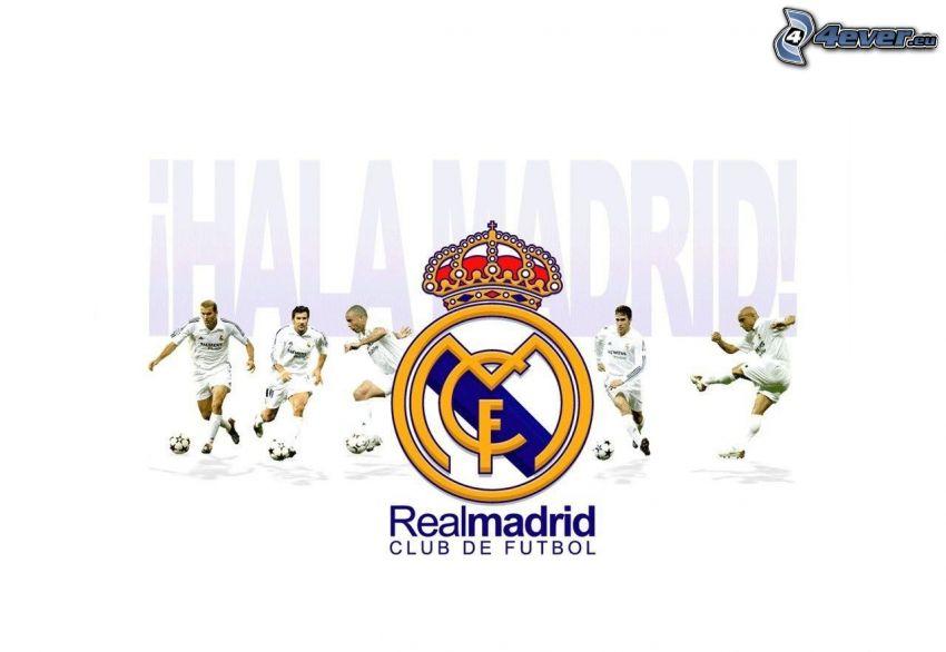 Real Madrid, footballers