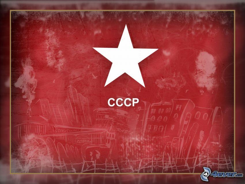 USSR, star