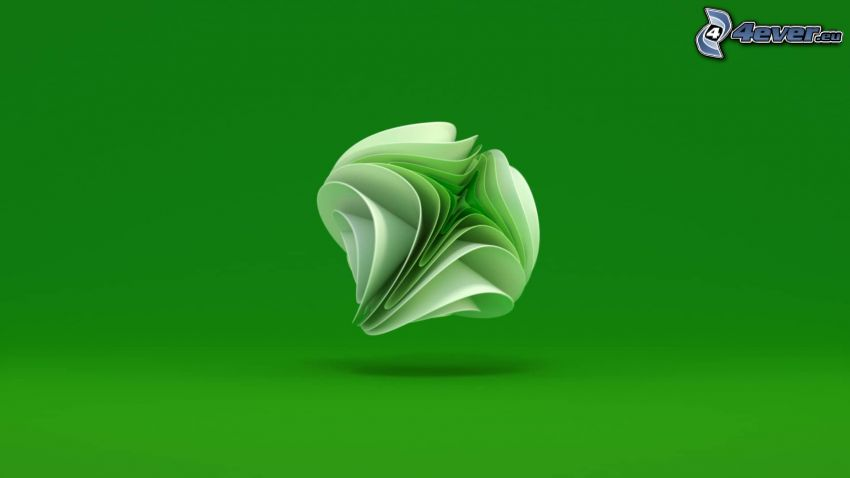 Xbox, green background