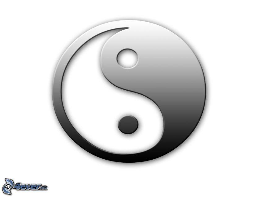 yin yang, balance