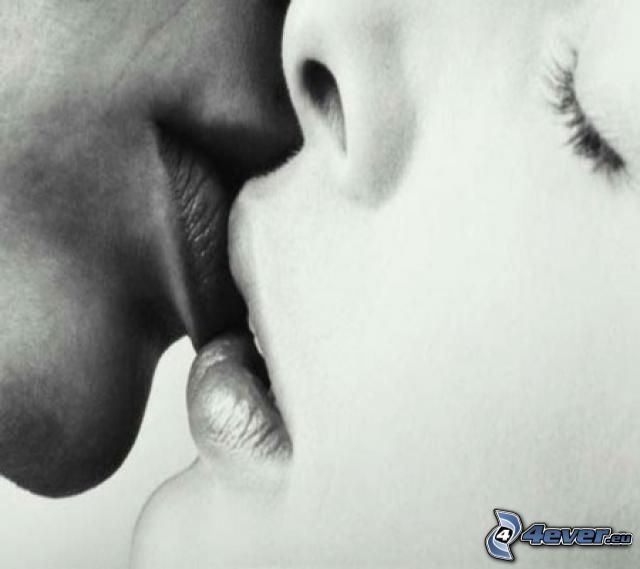 gentle kiss, love, kiss, lips