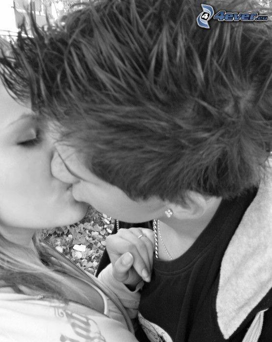 kiss, love