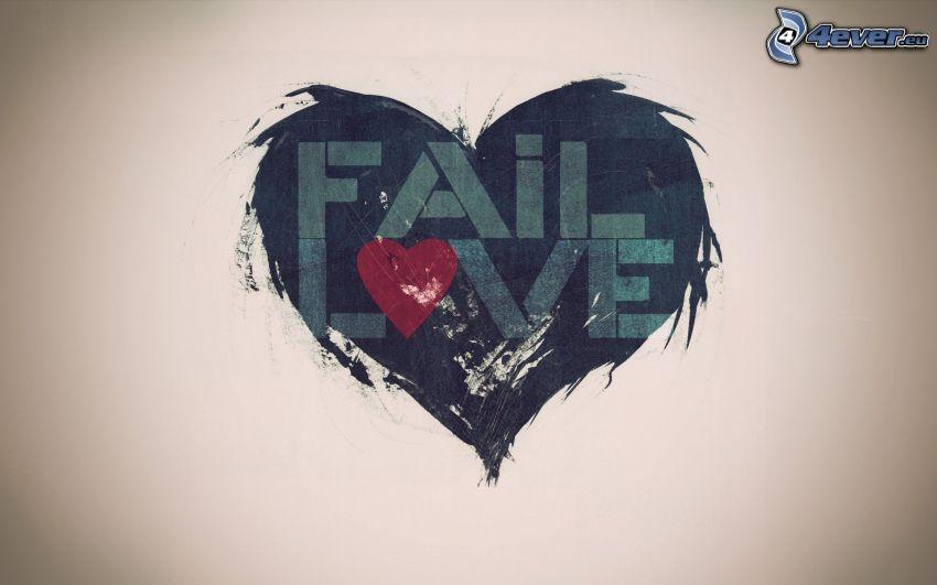 Fail Love, heart
