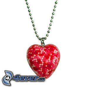 pendant with heart
