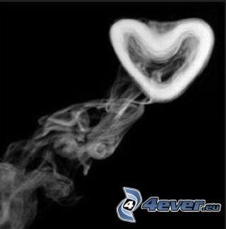 smoke, heart