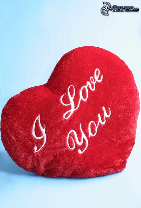 I love you, heart