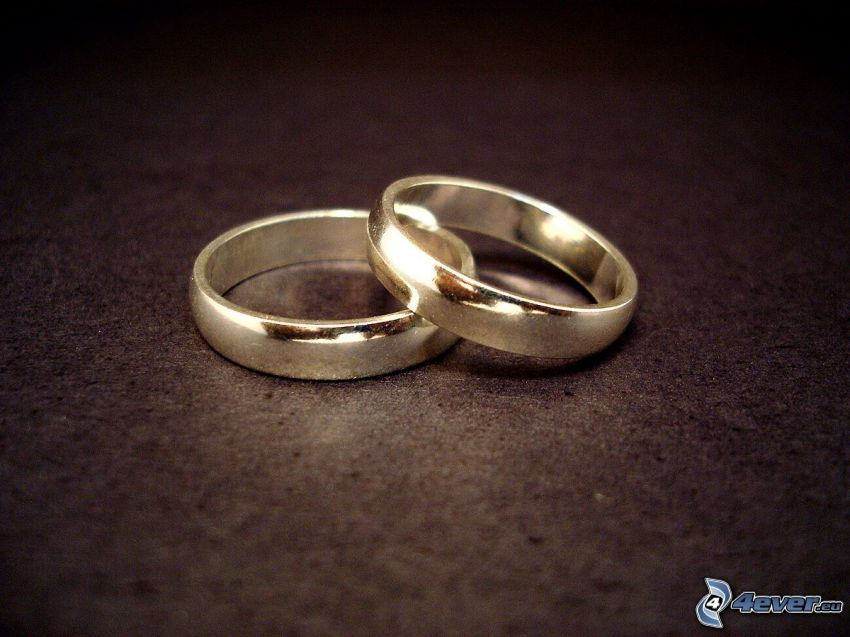 wedding rings, rings