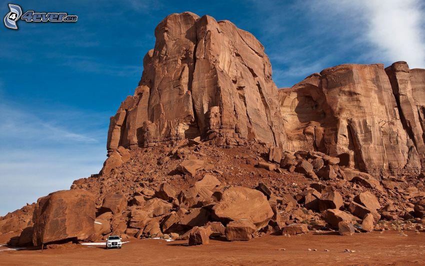 desert rocks, Audi Q3