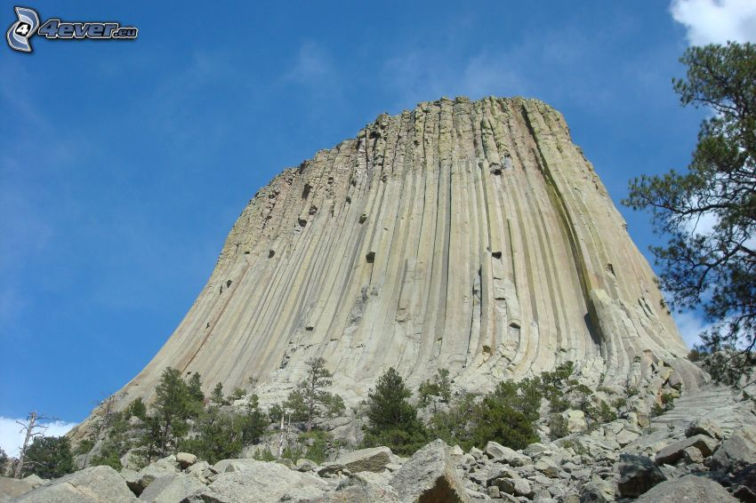 Devils Tower, rock