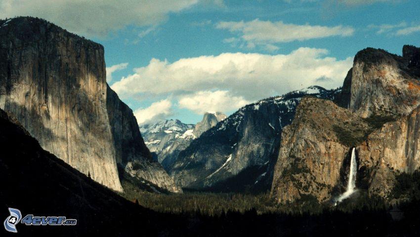 El Capitan, valley, Yosemite National Park