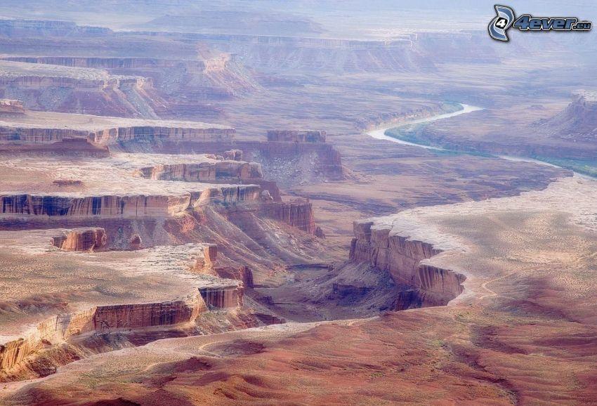 Canyonlands National Park, canyon, rocks