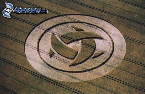 crop circles, emblem