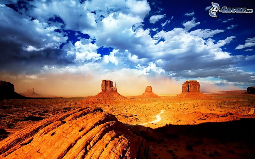 Monument Valley, USA, Great Basin Desert