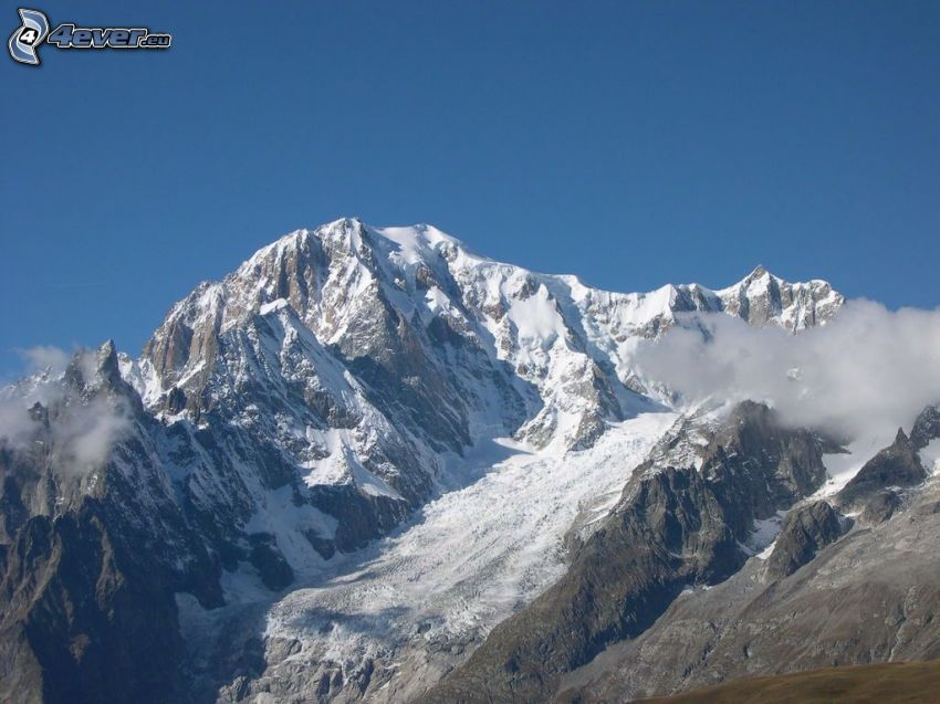 Aconcagua, rocky mountain