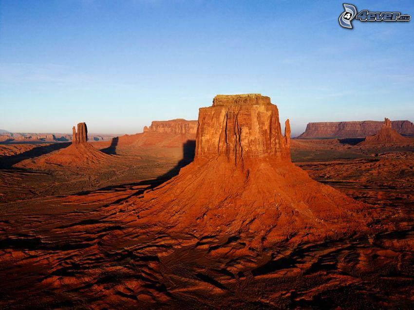 Monument Valley, desert, USA, rocks