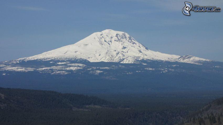 Mount Adams, snowy hill