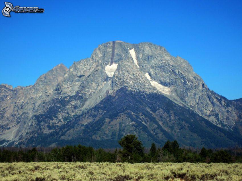 Mount Moran, Wyoming, rocky mountain