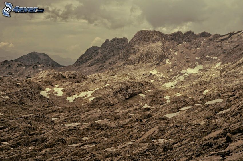 Totes Gebirge, rocks