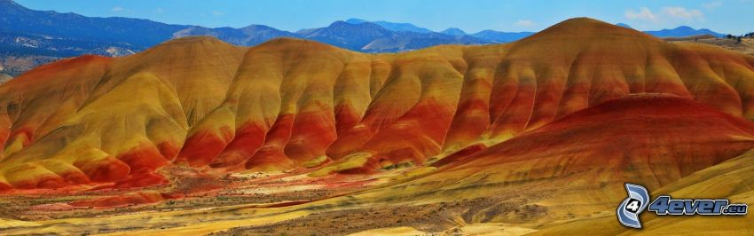 Painted Hills, Oregon, USA