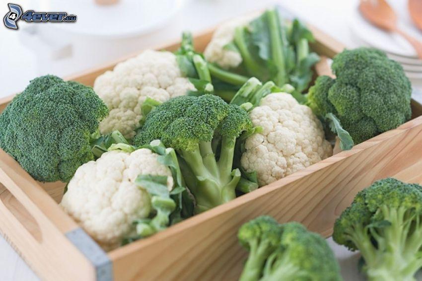 broccoli, crate