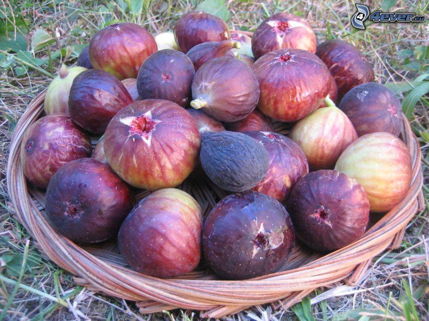 figs, basket