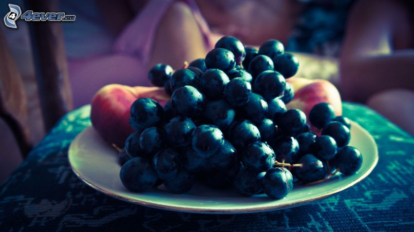 grapes, fruit