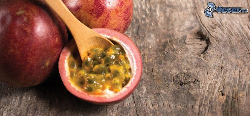 passionfruit, ladle