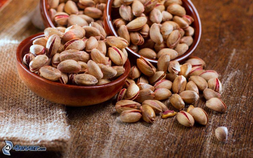 pistachios, bowl