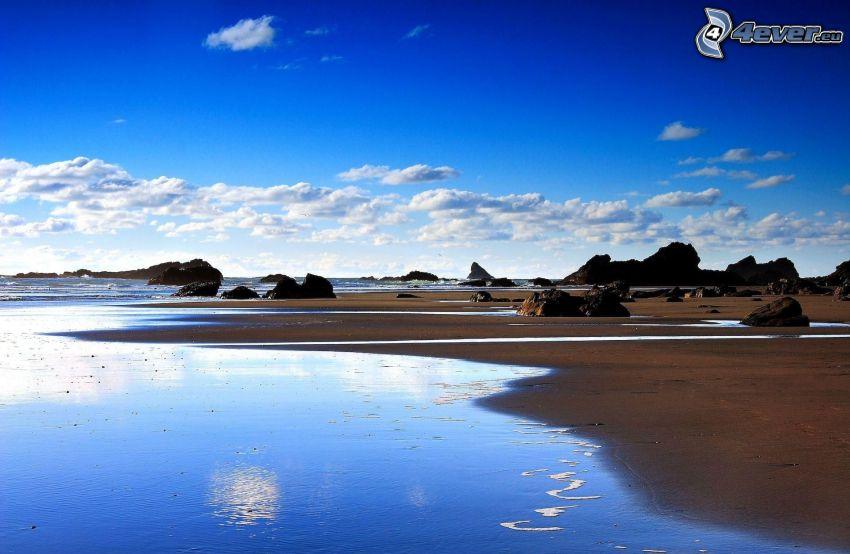 coast, sea, rocks