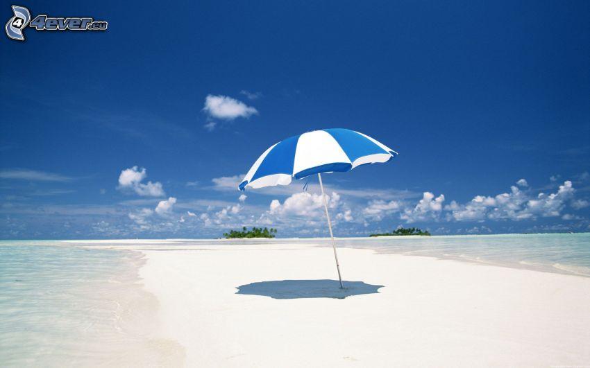parasol on the beach