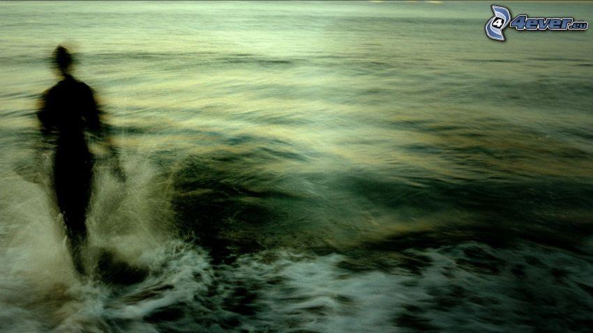 sea, figure