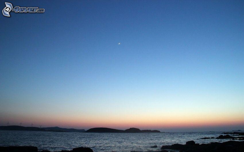 sea, islands