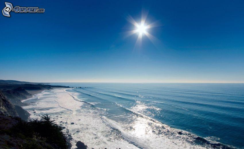 sea, sun, coast