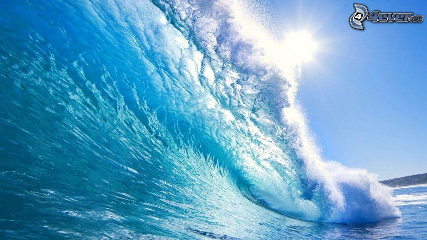 wave, sea
